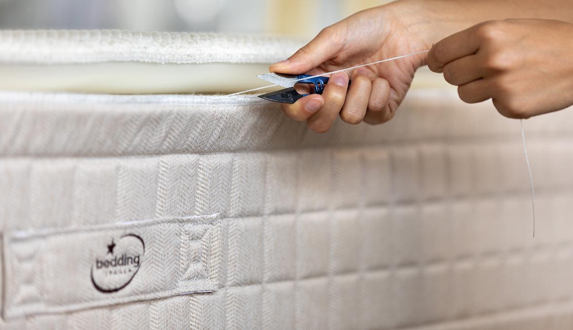 dettaglio materasso bedding